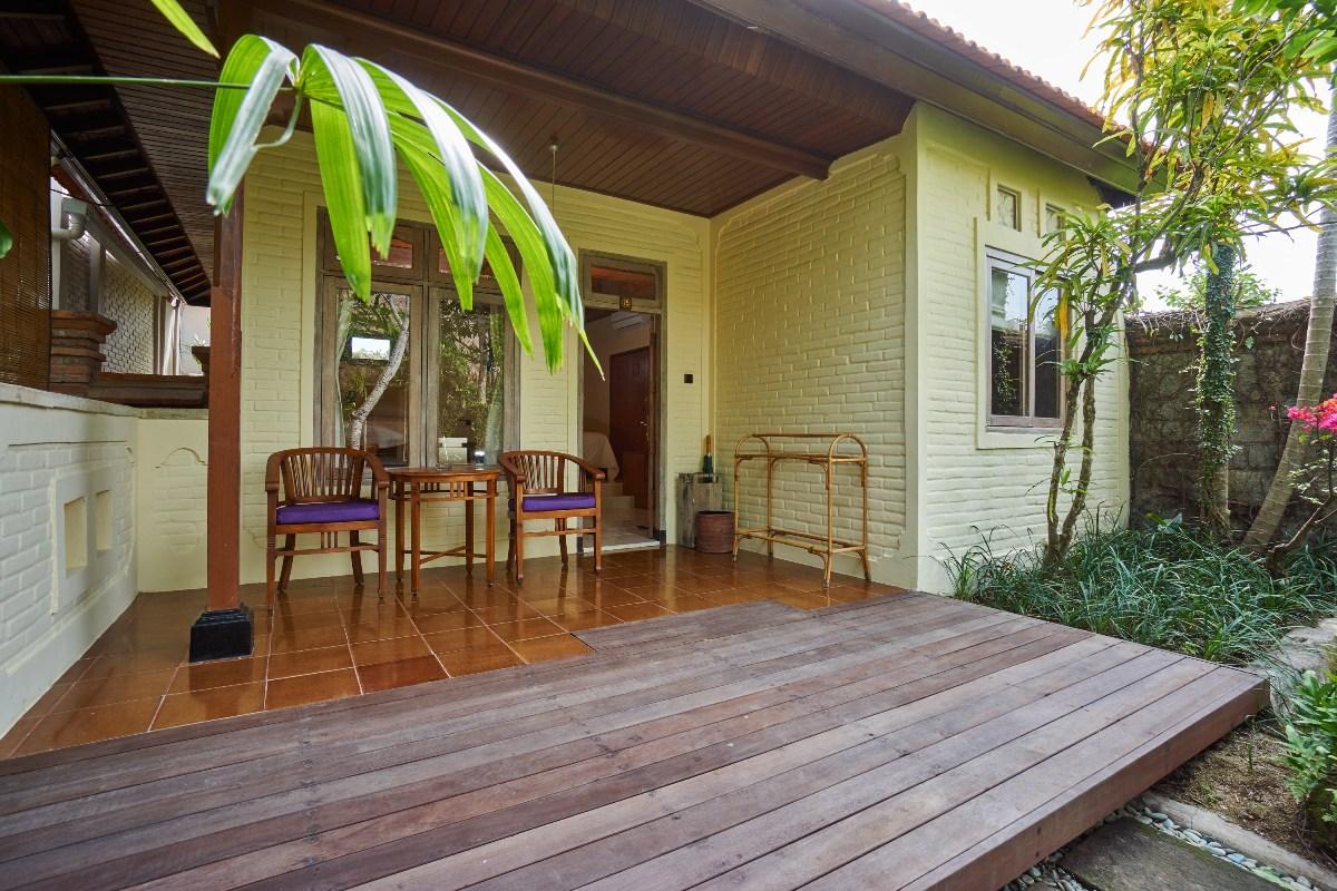 Tegal Sari Accommodation | room-Deluxe Garden View
